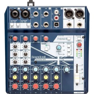 Soundcraft Notepad 8FX Product Image