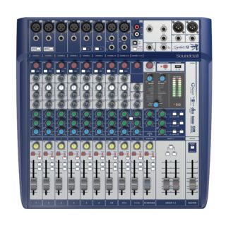 Soundcraft Signaturale 12 Mixer incl. Ableton LiveLite Software Product Image