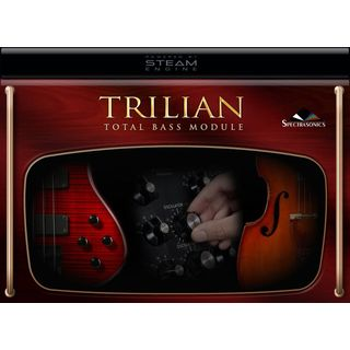 Spectrasonics Trilian Software-Synth mit Bass Sounds Produktbild
