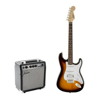 Squier Bullet Strat HSS + Fame GX10 Product Image
