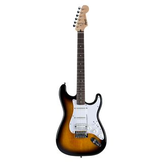 Squier by Fender Squier Bullet Strat HSS RW BS Brown Sunburst Produktbillede