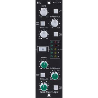 SSL Solid State Logic E-Series Dynamics Module for the 500 Series Product Image