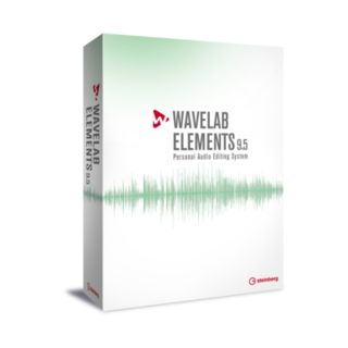 Steinberg Wavelab Elements 9.5 Mastering Software Produktbild