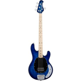 Sterling by Music Man StingRay RAY34QM MN Neptune Blue Product Image