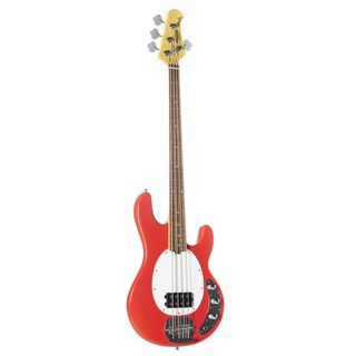 Sterling by Music Man StingRay RAY4 Fiesta Red Product Image