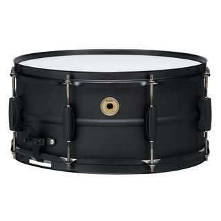 "Tama Metalworks Black Steel Snare 14""x6,5"" Product Image"