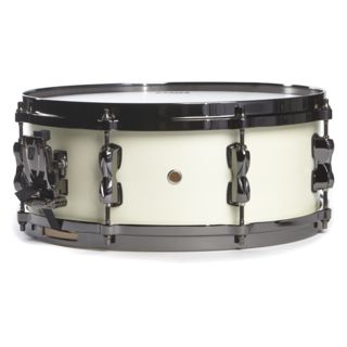 "Tama MLS55BN Superstar HD Snare 14""x5,5 Satin Arctic Pearl Product Image"