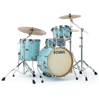 Tama Silverstar Custom VP48, Light Blue Lacquer #LBL Product Image