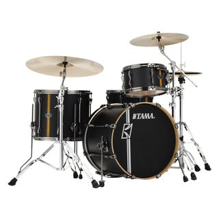 Tama Superstar HD ML40HZBN2-FBV Flat Black Vertical Stripe Изображение товара