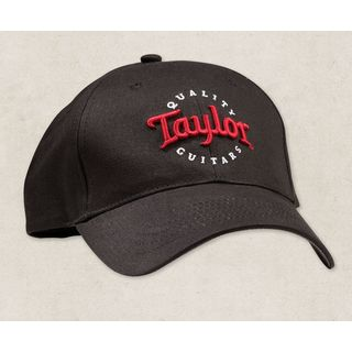 Taylor Black Cap Red/White Emb-One Size Produktbillede