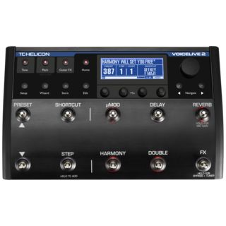 TC-Helicon VoiceLive 2 Vocal/Guitar Processor Product Image