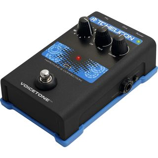 TC-Helicon VoiceTone C1 Hardtune and Correction Pedal Produktbild