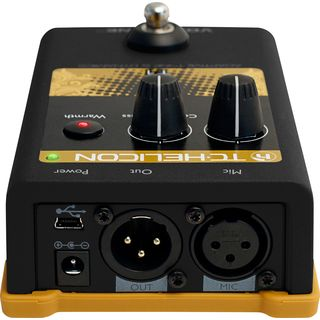 TC-Helicon VoiceTone T1 adapt. Tone and Dynamics Pedal Produktbild