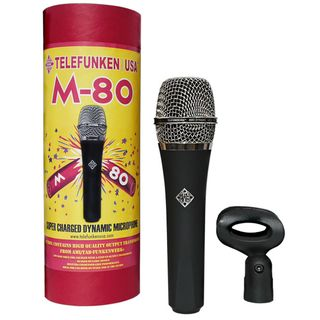 Telefunken M80 Dynamic Handheld Vocal Mic Black Product Image