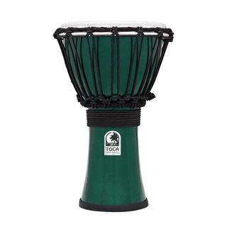 "Toca Percussion ColorSound Djembe TFCDJ-7MG, 7"", Green Produktbillede"