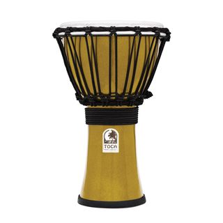 "Toca Percussion ColorSound Djembe TFCDJ-7MY, 7"", Yellow Product Image"