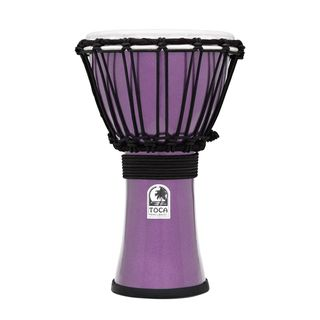 "Toca Percussion TFCDJ-7MV ColorSound Djembe 7"" (Violet) Product Image"