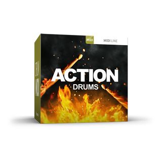 Toontrack Action Drums MIDI MIDI-Pack Product Image