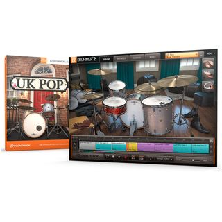 Toontrack EZX UK Pop Sounds für EZ Drummer Produktbild