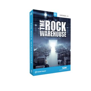 Toontrack SDx - The Rock Warehouse Superior Drummer Library Product Image
