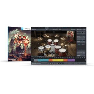 Toontrack The Rock Foundry SDX Boxed Produktbild