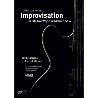 Tunesday Improvisation - der intuitive Weg zum Gitarrensolo Produktbild