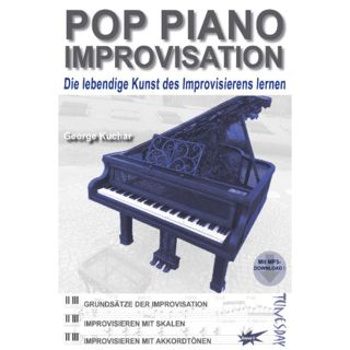 Tunesday Pop Piano Improvisation Produktbild