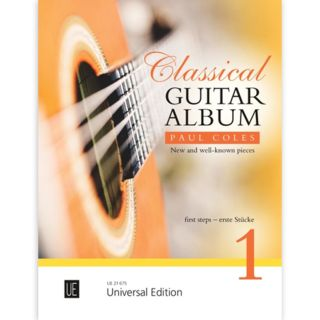 Universal Edition Classical Guitar Album 1 Product Image