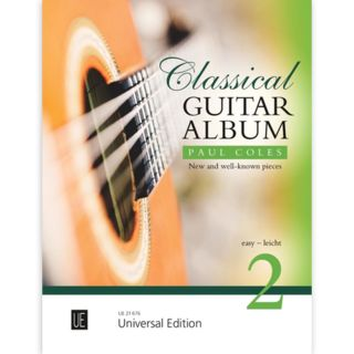 Universal Edition Classical Guitar Album 2 Product Image