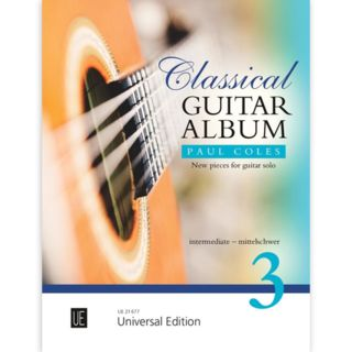 Universal Edition Classical Guitar Album 3 Product Image