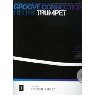 Universal Edition Groove Connection - Trumpet: Dorisch – Mixolydisch – Pentatonik Εικόνα προιόντος