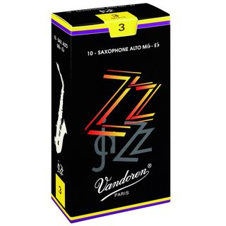 Vandoren ZZ Alto Sax Reeds 2.5 Box of 10 Product Image
