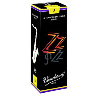 Vandoren ZZ Tenor Sax Reeds 2.5 Box of 5 Product Image