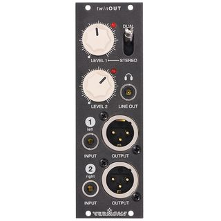 Vermona Modulear Twin Out DI Module, (Headp.) Stereo out Product Image