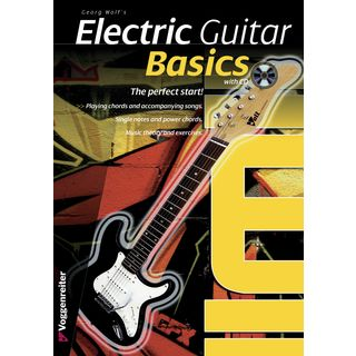 Voggenreiter Electric Guitar Basics ENGLISH Georg Wolf / primer / incl. CD Produktbillede