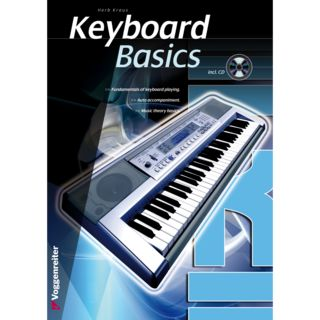 Voggenreiter Keyboard Basics ENGLISH Kraus / primer / incl. CD Productafbeelding