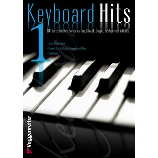 Voggenreiter Keyboard Hits 1 Songbuch Product Image