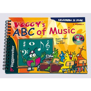 Voggenreiter Voggy's ABC of Music ENGLISH  Zdjęcie produktu
