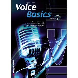 Voggenreiter Voice Basics Renate Braun, Buch/CD Product Image