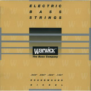 Warwick 41210 Yellow Electric 4-String Med-Light 040-100 Product Image