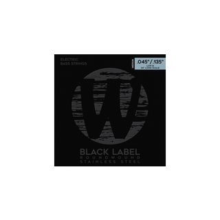 Warwick Bass Strings, 45-135,Black 5 string set, Stainless Steel Product Image