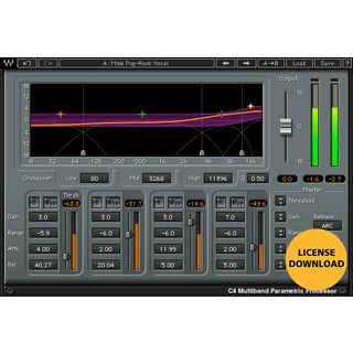 Waves C4 Multiband Compressor Monthly Special Product Image