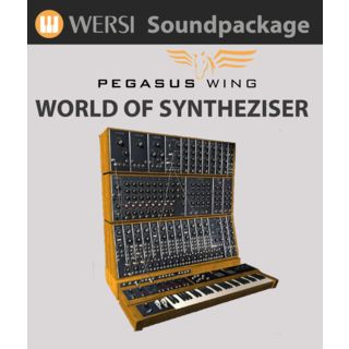 Wersi World of Synthesizer Soundpakket voor Pegasus Wing Productafbeelding