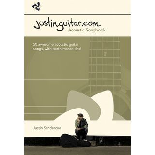 Wise Publications Justinguitar.com Acoustic Songbook Guitar Product Image