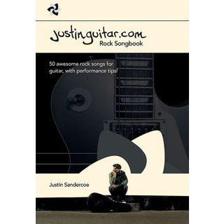 Wise Publications Justinguitar.com Rock Songbook Guitar Product Image