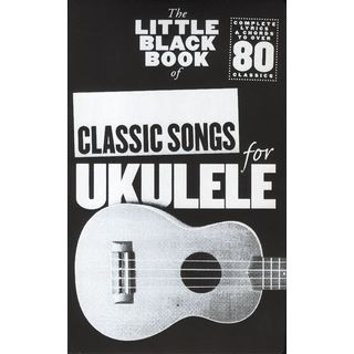 Wise Publications Little Black Book Classic Song Ukulele Product Image