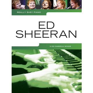 Wise Publications Really Easy Piano: Ed Sheeran Product Image