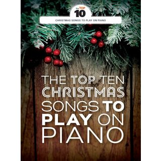 Wise Publications The Top Ten Christmas Songs To Play On Piano Product Image