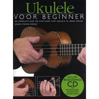 Wise Publications Ukulele Voor Beginner Boek/CD Productafbeelding