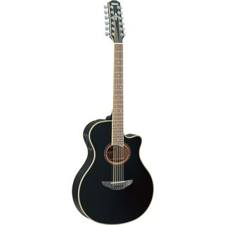 Yamaha APX700-II 12-String Electro Ac oustic Guitar, Black   Product Image
